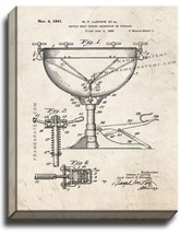 Kettle Drum Tuning Mechanism Or Tympano Patent Print Old Look on Canvas - $39.95+