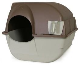 Omega Paw Roll'N Clean Cat Litter Box, Regular - $36.18