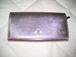 KATE SPADE Pink Metallic Wallet Clutch MINT condition. - ₨2,527.06 INR