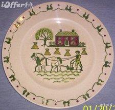 "CALIFORNIA-- Metlox (Poppy Trail) Homestead Provincial Dinner Plate 10"" - $19.95"
