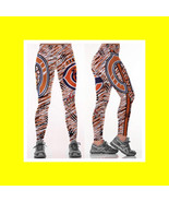BEARS Leggings - Women Fan Gear // NFL Chicago Bear Football Fan Gift - ... - $24.99