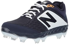Balance Men's 3000v4 Baseball Shoe, Navy White, 1.5 2E US - $90.18