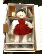 Cabbage Patch Kids Jennifer Sue Doll Danbury Mint Porcelain Collection New - $67.32