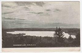 Monadnock Lake Dublin New Hampshire 1907c postcard - $5.94