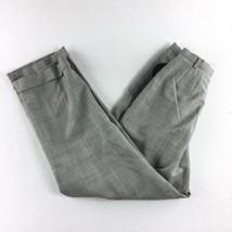Valerie by Valerie Stevens Pleated Front Dress Pants Women's Wool Gray S... - $44.54