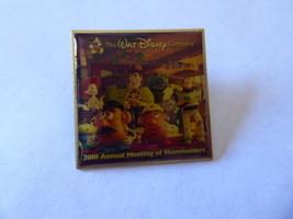 Disney trading clasps 76650 the walt company 2010 annual shareholders pin - $9.46