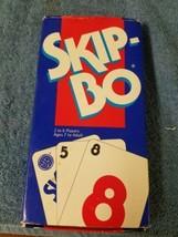 Mattel 1050 Skip-Bo Card Game - 2 to 6 Players 1993 - $6.65