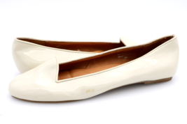 Jeffrey Campbell Womens 9M Ivory Mention Slip On Flats Ballets Shoes - $31.99