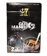 Trung Nguyen G7 Coffee Gu Manh X2, Ice Coffee, 12x20grams - $12.82
