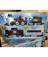 Lionel Trains North Pole Central Lines Ready to Play Christmas Train Set 4+ - $64.35