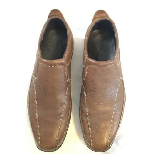 4d1f1f7e62b Cole Haan Air Everett II Slip On Loafers Brown Leather US 11M -  75.00