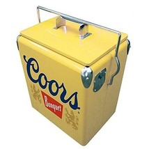 Koolatron CBVIC-13 Coors 13 L Retro Vintage Banquet Ice Chest In Yellow New - €126,28 EUR
