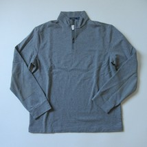 NWT Polo Ralph Lauren Mock-Neck Zip in Steel Heat Gray Pullover Sweater XL - $41.99
