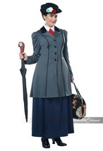 California Costumes English Nanny Mary Poppins Plus Size Halloween Costu... - $63.00