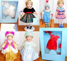 Franklin Mint Princess Diana Little Lady Doll #B + 7 Outfits Case Furnit... - $325.00