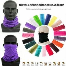 Unisex Man Women Head Face Neck Gaiter Tube Beanie Scarf Bandana Sports ... - $2.69
