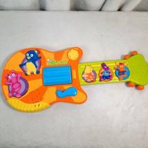 The BACKYARDIGANS Guitar TALKING SINGING MUSICAL WORKS instrument Mattel... - $24.95