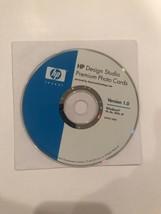 HP Design Studio Premium Photo Cards Version 1.0 (PC, 2005) - $9.89