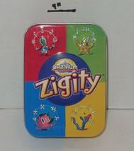 2004 Cranium Zigity Card Game In Collector Tin - $9.50