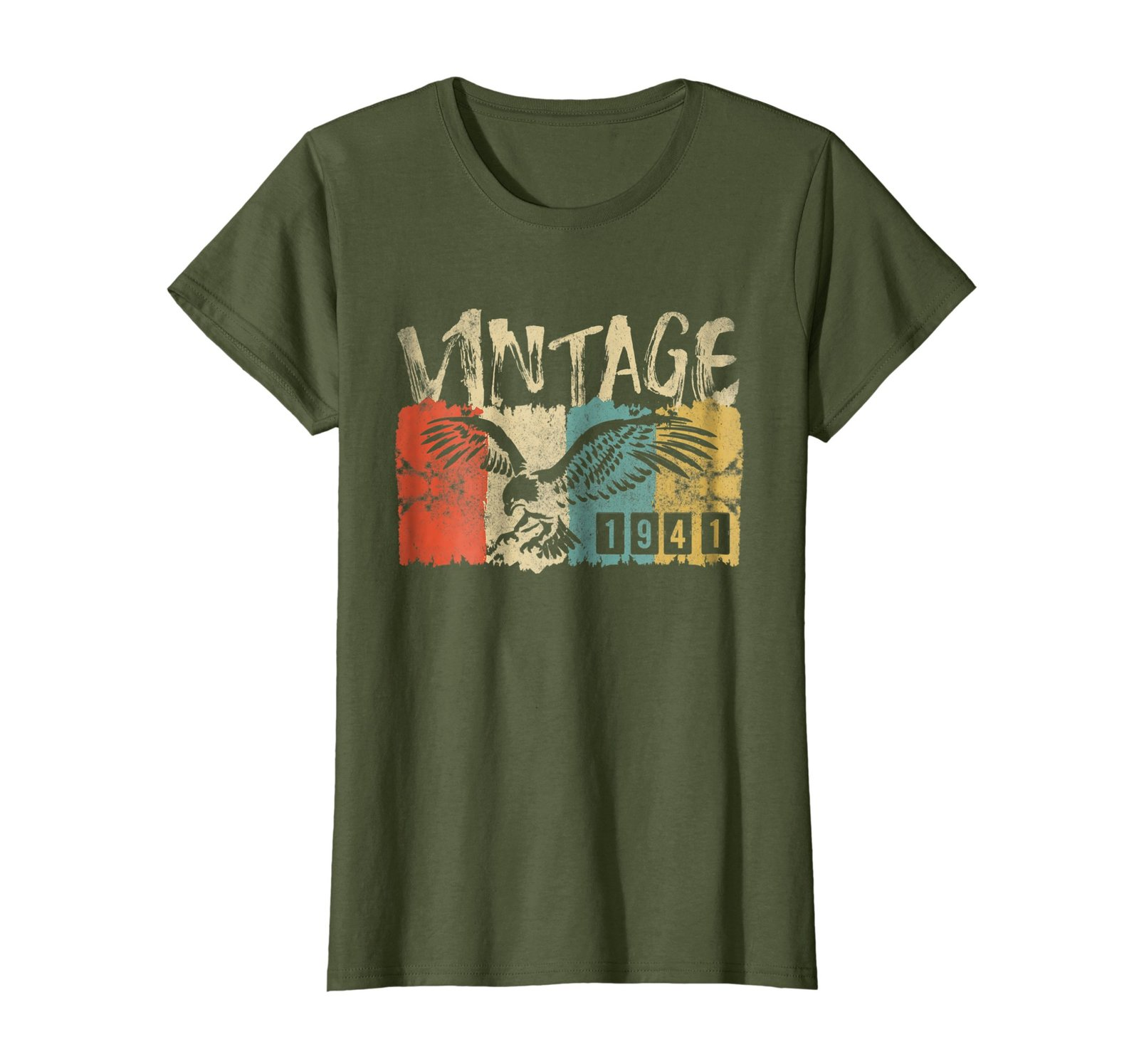 Funny Shirts - Vintage Retro Genuine Made In 1941 77th Birthday Gift 77 yrs Wowe image 2