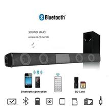 Wireless Bluetooth Soundbar Speaker TV Home Theater Soundbar + Remote Co... - $34.99
