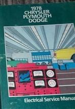 1978 Plymouth Fury Road Läufer Sapporo Volare Elektrisch Service Shop Ma... - $39.60