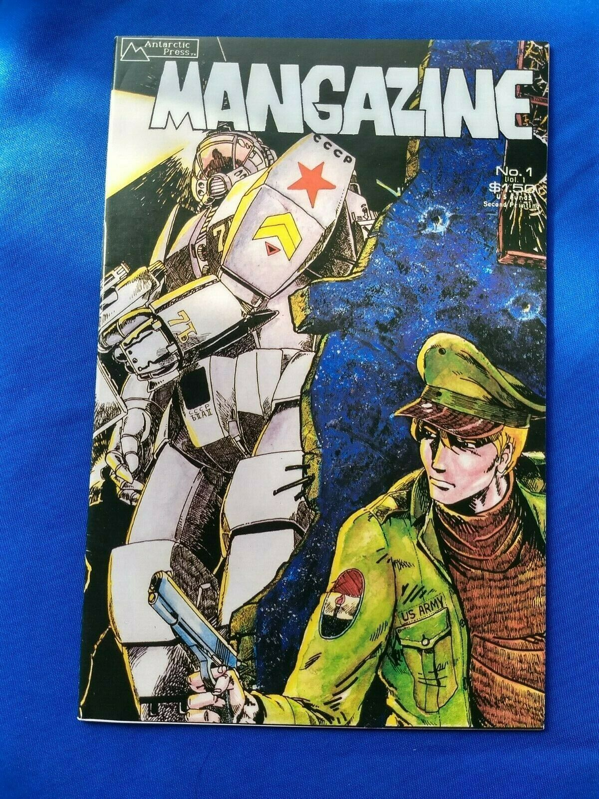 MANGAZINE 1 HIGH GRADE 2ND PRINT ANTARCTIC PRESS 1986 INDIE/USA MANGA COMICS+ - $1.25