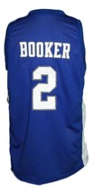 Devin Booker #2 Moss Point High School Basketball Jersey Sewn Blue Any Size image 2
