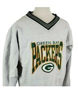 Vintage Legends Green Bay Packers Reversible Sweatshirt XL Embroidered G... - $36.89