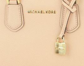 Michael Kors Adele Pastel Pink Leather Shoulder Messenger Bag Handbag image 3