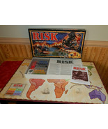 Risk Board Game Vintage 1993 The World Conquest Game Complete  - $29.38