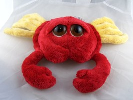 "Russ  Berrie RED Crab Clawed  Plush 12"" Large Eyes CUTE! - $9.94"