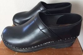 Black Wood Sz 11 Bastad US Troentorp Leather 10 5 Full Clogs Back 44 Mens Sweden qn74aPtYax