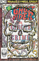 Ghost Rider Comic Book #73 Marvel Comics 1982 VERY FINE - $5.94