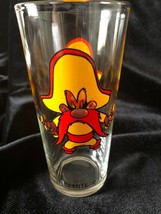 "Vintage 1973 Pepsi Glass Looney Tunes Warner Bro ""Yosemite Sam"" Collector Series - $8.00"
