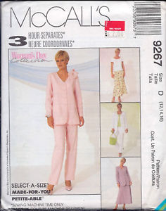 Primary image for McCall's 9267 Misses' Jacket, Top, Pull-On Pants, Skirt