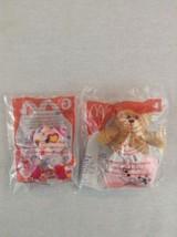 Lot of 2 Build a Bear NIP McDonalds Read Teddy & Endless Hugs Miniature ... - $5.89