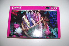 RoseArt Encore Bounty Of Blooms 500 Piece Puzzle - $5.32