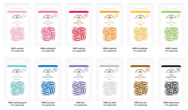 MINI Paperclips. 25 Pack.  Choose Color. Doodlebug Designs image 3