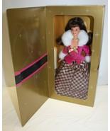 1996 Winter Rhapsody Barbie Doll In Box, Unopened, Special Edition, Avon... - $19.79