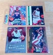 LeBron James LOT(4) Rookie Cards Mint Condition US Free Shipping - $17.73