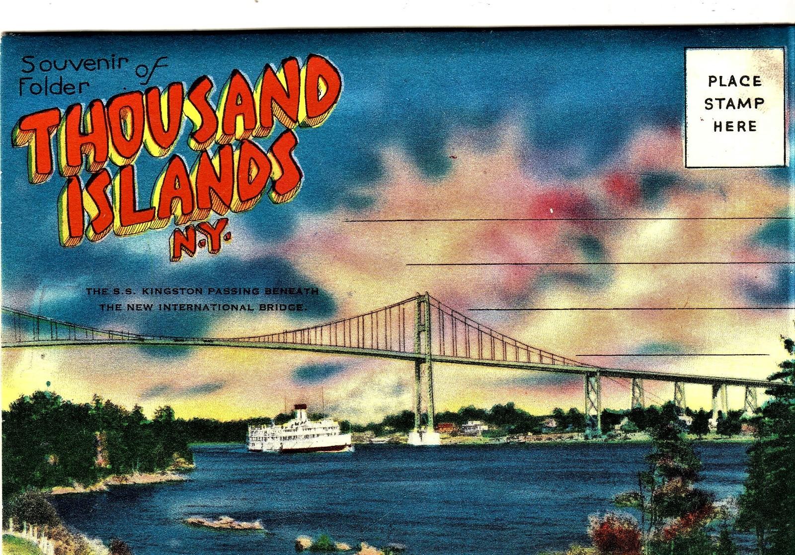Thousand Islands Venice Of America Book & Souvenir Photo Booklet image 2