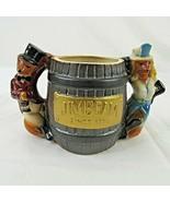 Jim Beam Fox Handle Mug Regal China Figural 1980 Vintage 10th Norfolk Vi... - $34.65