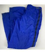 Vintage PATAGONIA Ski Pants Fleece Lined Side Zipper Snowboard Sport Lar... - $69.99