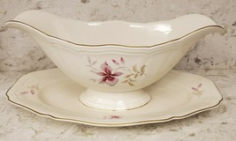 Rosenthal Babnhof Selb Germany Chippendale Floral Gravy Dish EUC - $14.50