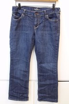 W12996 Womens OLD NAVY Blue THE DIVA Stretch BOOT CUT Denim JEANS Size 6 - $26.02