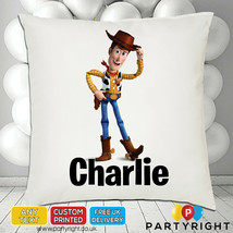 Personalised Toy Story Woody Cushion Cover • Unique Gift • Your Name - $9.68