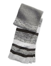 Alfani Men's Color Blocked Marled Scarf Gray One Size - $22.76