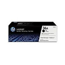 HP CB436D 36A Dual Pack LaserJet Toner Cartridge for LaserJet P1505, P15... - $136.72