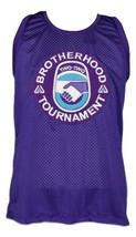 White Men Can't Jump Brotherhood Tournament Basketball Jersey Purple Any Size image 4